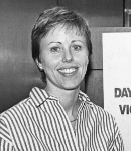 Coach Barbara Stevens