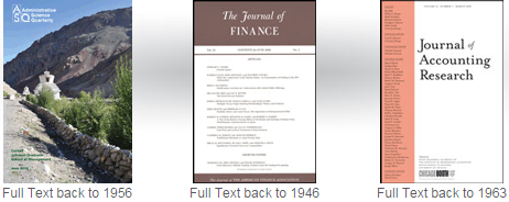 Business Source Complete journals