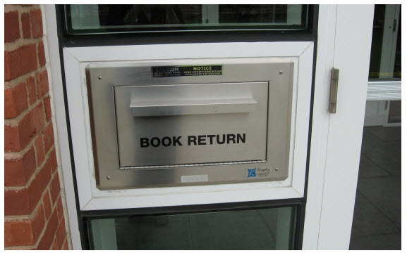book return drop