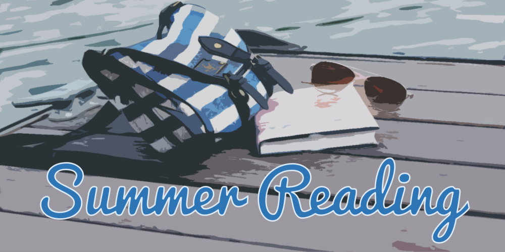 Click to view the books and audiobooks on the Summer Reading display.