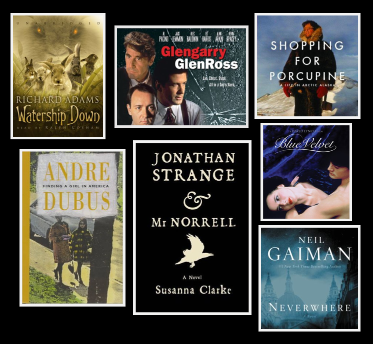 Library Staff Picks on display at the library, October 6 - November 16, 2015.