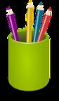 pencil-cup