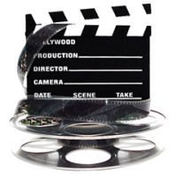 film reel and slate