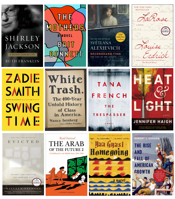 These are just a few of the best books of 2016